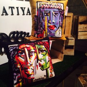 The House of Cali Cushions Sania Maskatiya