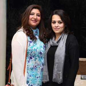 Rima Farid and Amina Faisal
