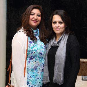 Rima Farid and Amina Faisal