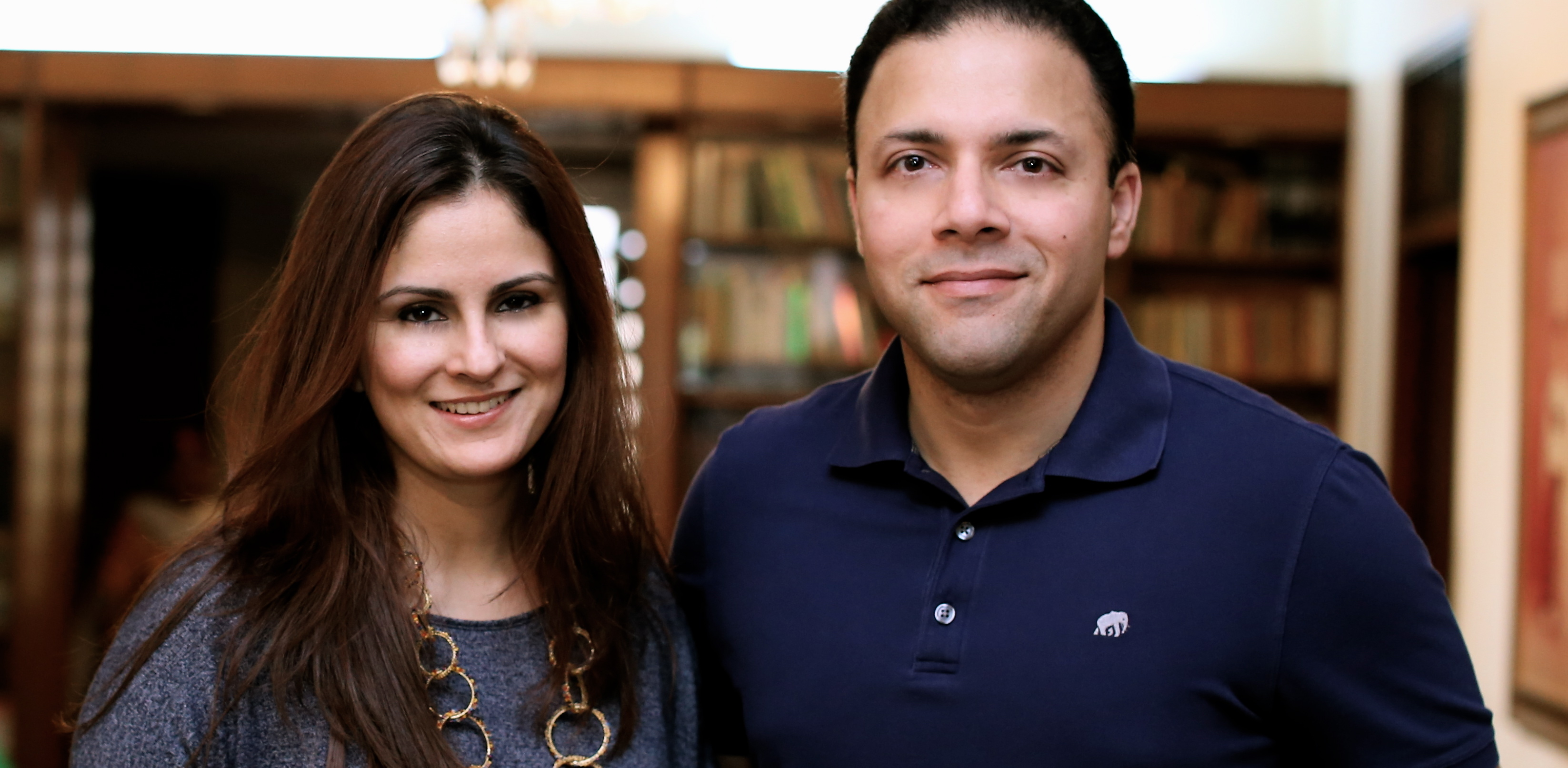 Romana Abdullah of Hopscotch and Haris Syed