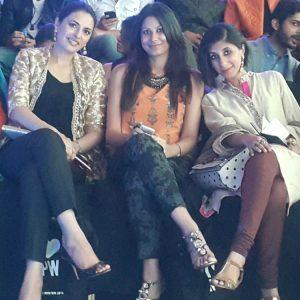 Salima Feerasta, Faiza Lakhani and Maliha