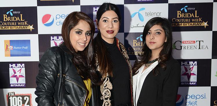 Saira Rizwan, Farina Ghauri and Foha Raza