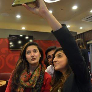 Alina, Hassan and Foha Raza