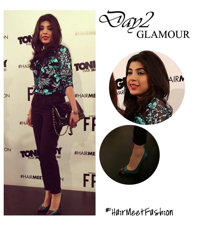 Day 2 Glamour Sadaf  Zarrar Toni&Guy HMW