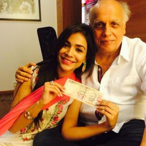Humaima and Mahesh Bhatt