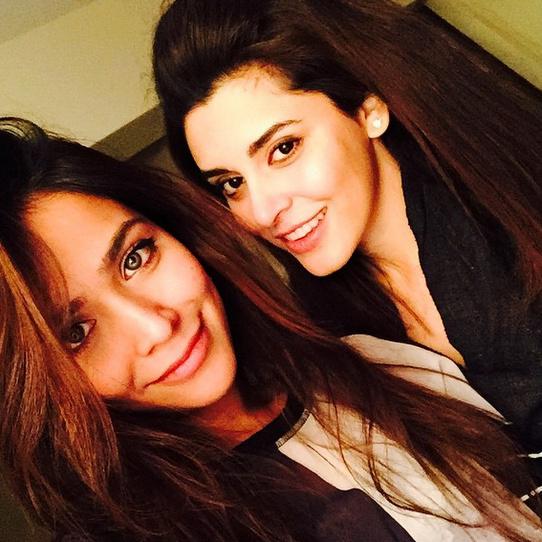 Humaima Malick and Ammara Hikmat