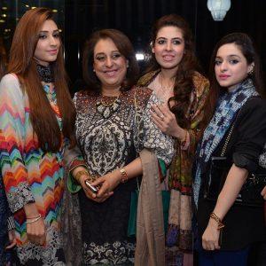 Hafsa, Maheen, Fauzia Gillani, Bisma, Sehr and Hira