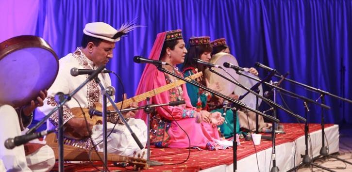 Performers at Rafi Peer Sufi Festival