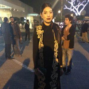Farina Ghauri of Pakistan Street Style