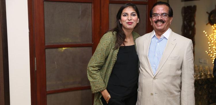 Emmy Award Winner Misha 'Mahawish Rezvi' with her father