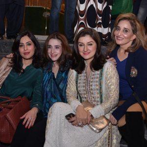 Saima, Misbah, Ayesha, Naila