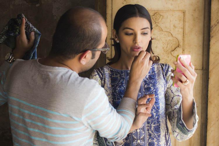 Model Sadia Khan for Sapphire