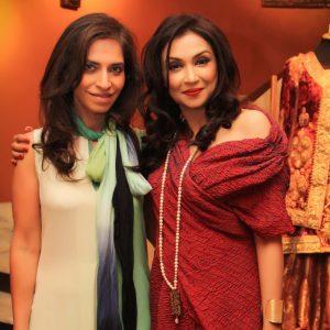 Shameel Ansari with a friend
