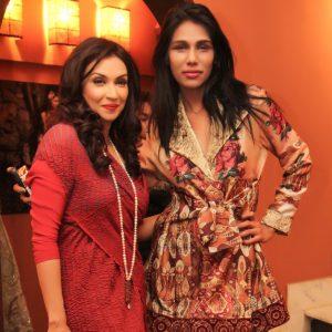 Shameel Ansari with Faiza Ansari