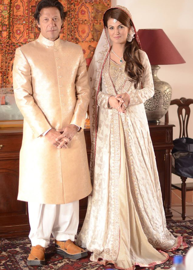 Reham Khan & Imran Khan Wedding