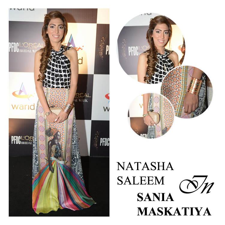 Natasha Saleem in Sania Maskatiya