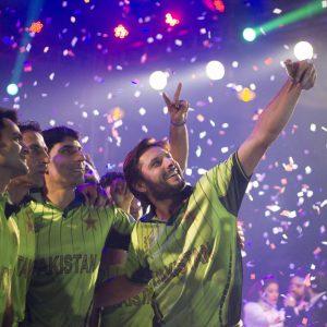 Pakistan Team Selfie Shahid Afridi