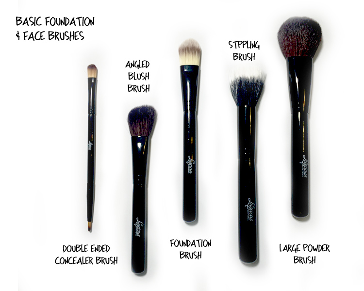 Basic Make Up Brushes - Face