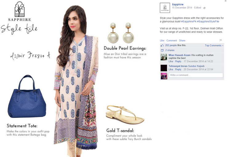 Sapphire facebook