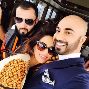 Mehreen Syed and Hassan Sheheryar Yasin HSY Lawn 2015