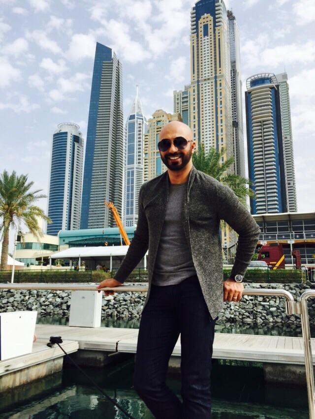 Hassan Sheheryar Yasin in Dubai