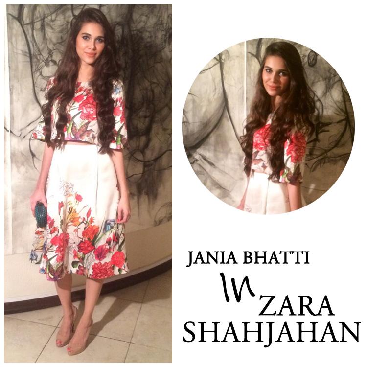 Jania Bhatti in Zara Shahjahan