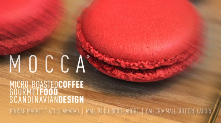 Macaroons at Mocca Coffee