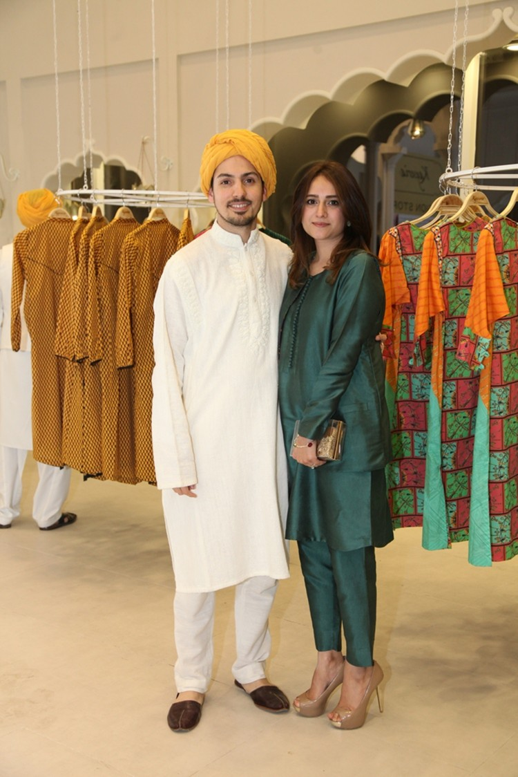 Creative Director Kayseria Waleed Zaman and Fatima Zaman