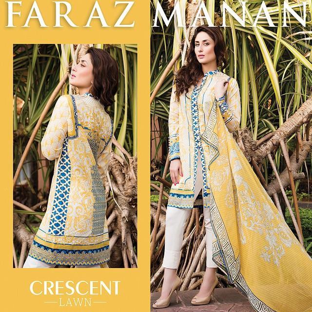 Faraz Manan Lawn 2015