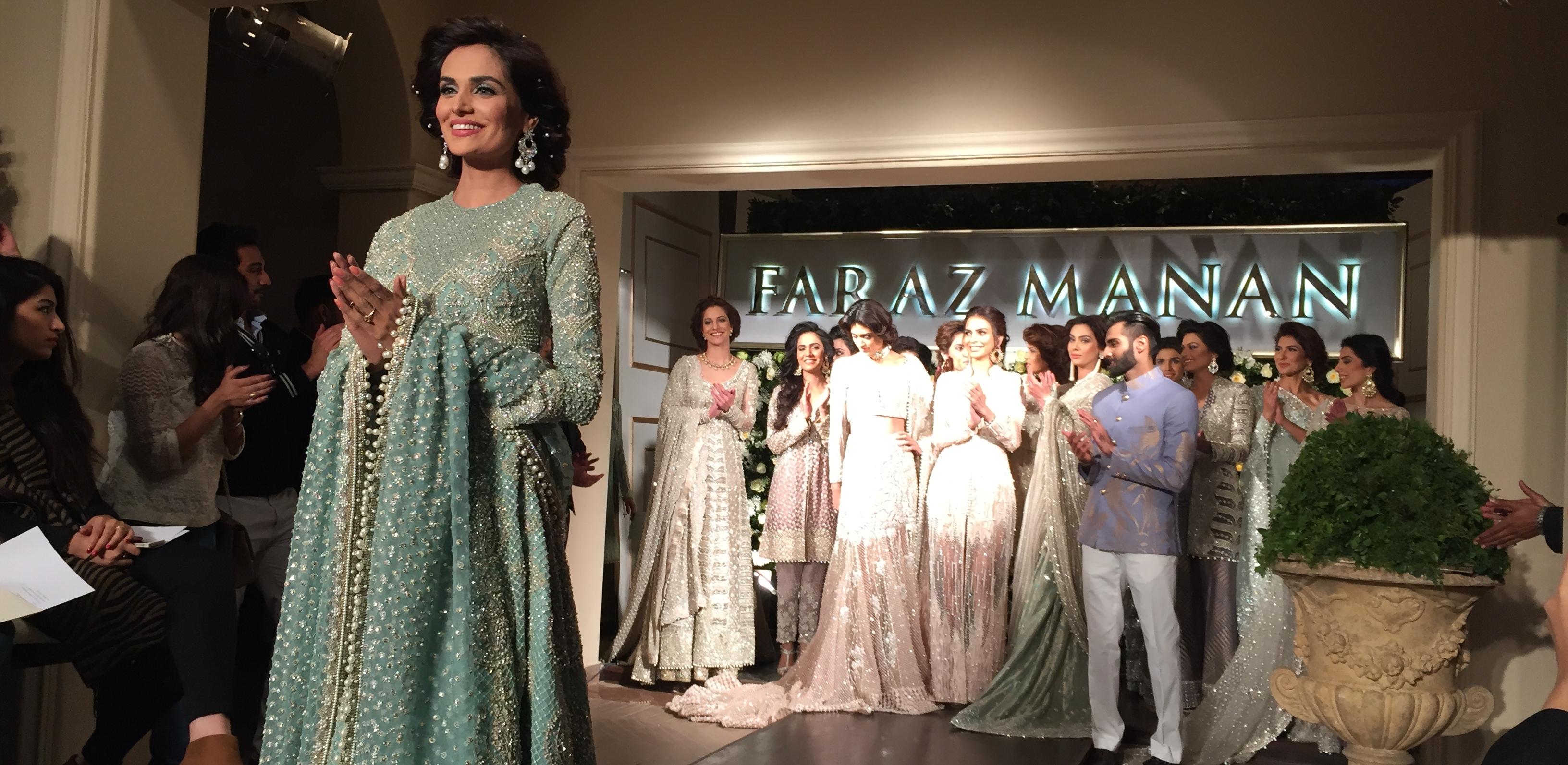 Faraz Manan Bridals 2015
