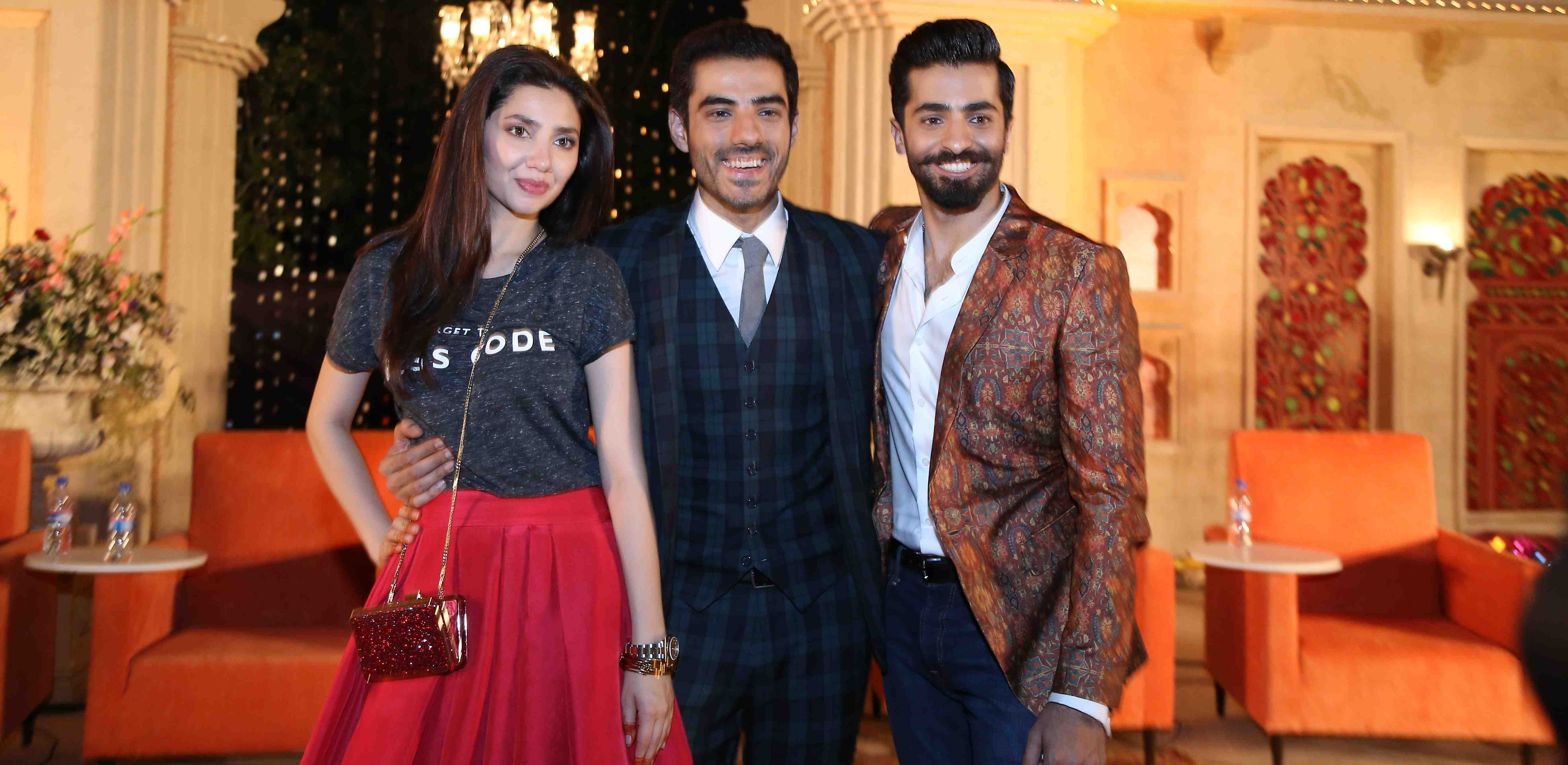 Mahira Khan, Adeel Hassan and Shehryar Munawar Ho Mann Jahaan