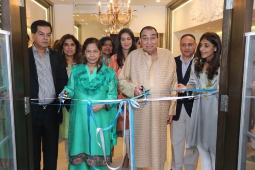 Inauguration by shamsha Hashwani's Father