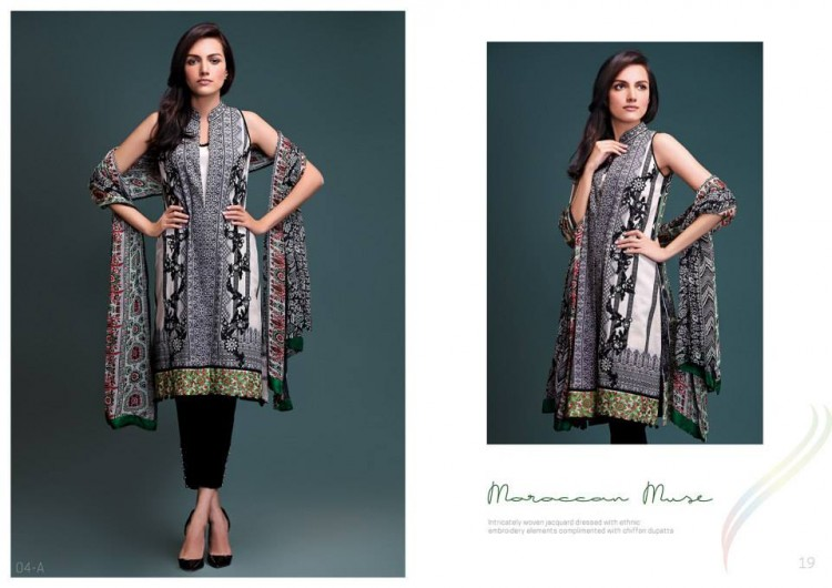 Morrocan Muse by Rungrez Lawn 2015