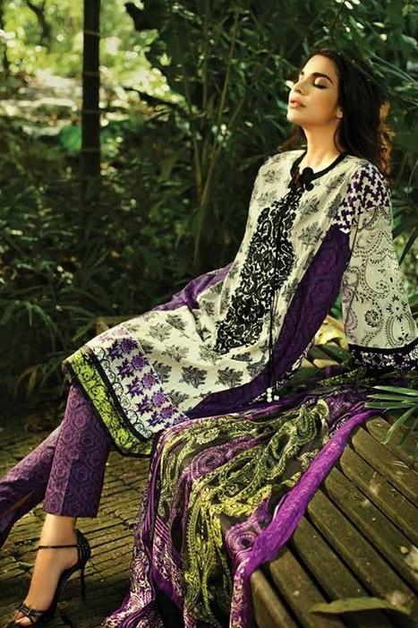 So Kamal Lawn Dresses 2015