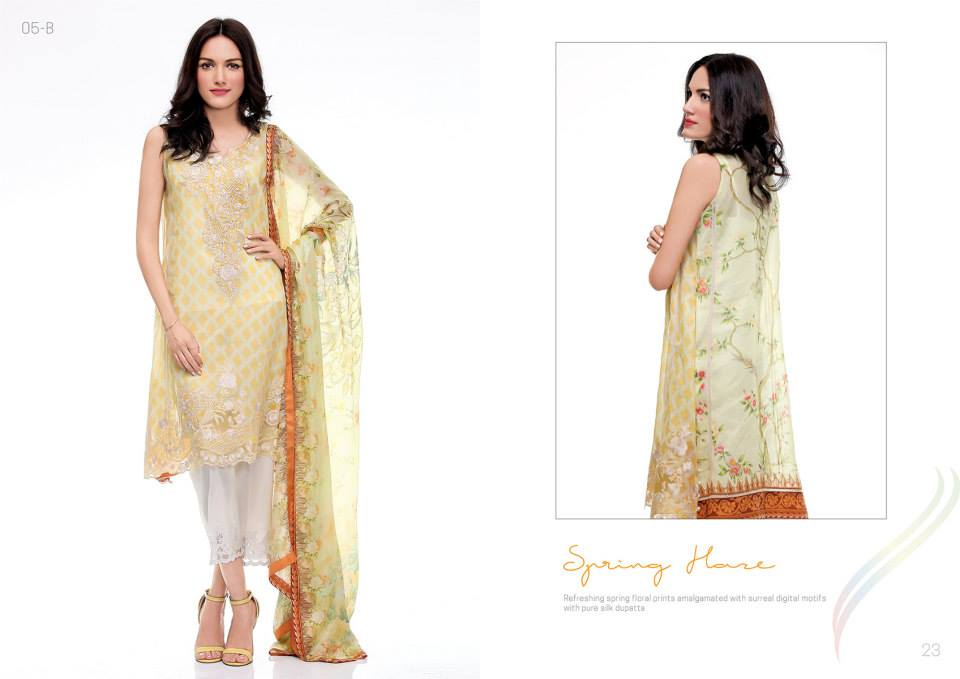 Spring Flare by Rungrez Lawn 2015