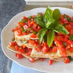 Bruschetta in Tuscany