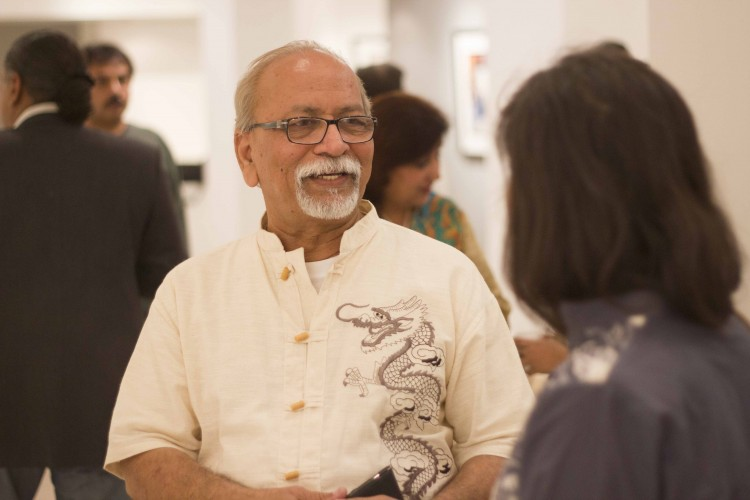 Mashkoor Raza at Ejaz Gallery