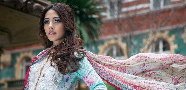 Ainy Jaffri for Farah Talib Aziz