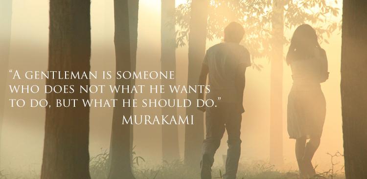 Gentleman Murakami