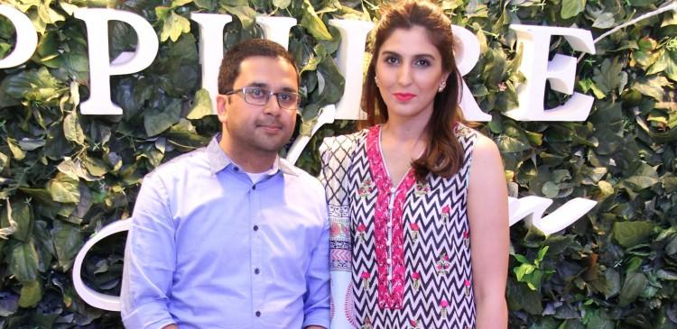 Nabeel Abdullah Director Sapphire & Khadijah Shah Creative Director Sapphire
