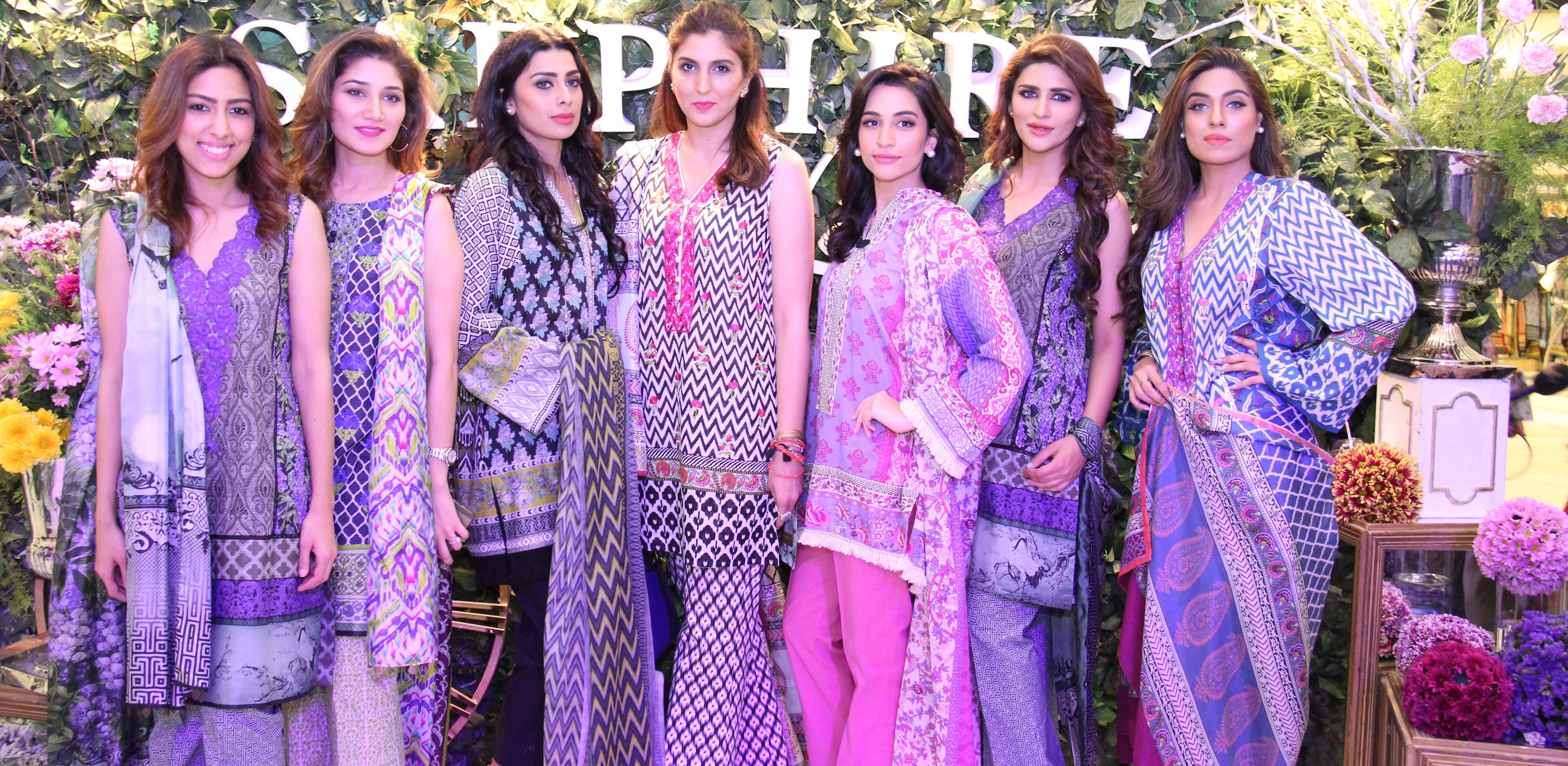 Natasha, Meher Bano, Fia, Khadijah, Sana, Falak and Ekra