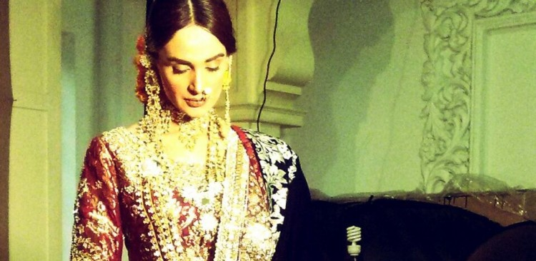 Ali Xeeshan BTS Bridal Shoot with Ather Shahzad. (8)