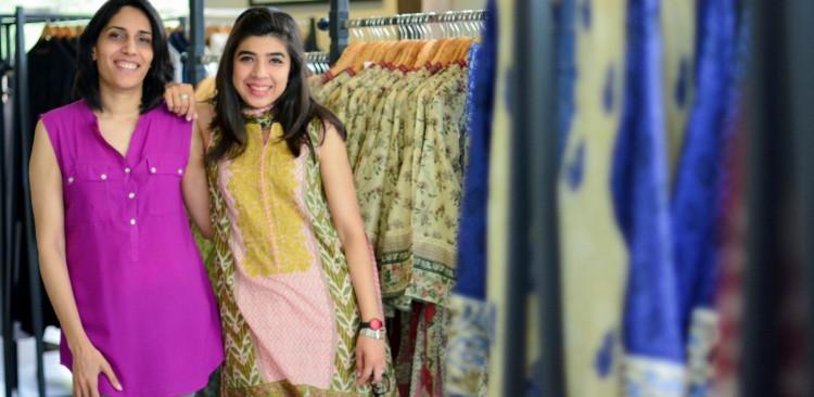 Mehreen Chaudhary Sadaf Zarrar Sapphire Lahore