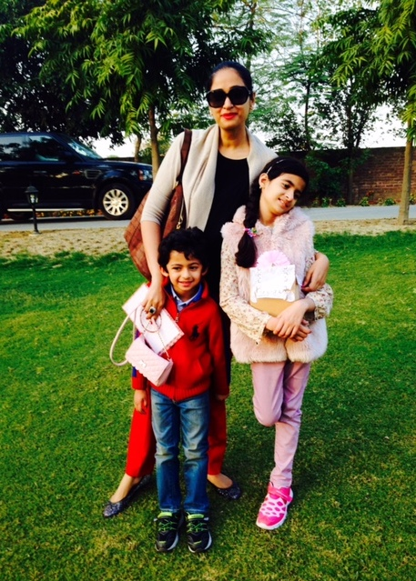 maheen Kardar and Family