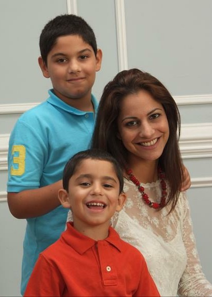 Cybil Chowdhry Family