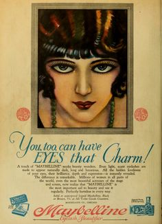 Maybelline Vintage Ads 1920 a