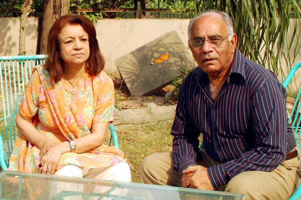 Pakistan naeem tahir with wife (parents of ali tahir)