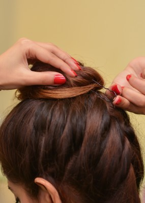 French Updo SUmmer hair Tutorial