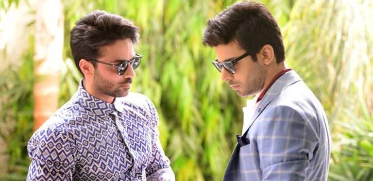 Fawad Khan and Omar Farooq