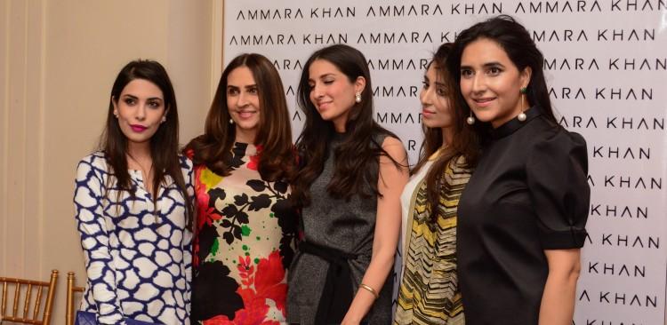 Ammara Khan, Anma & Maheen Taseer